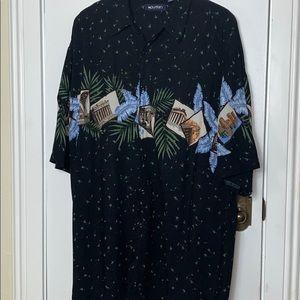 Puritan mans button down shirt size XLT